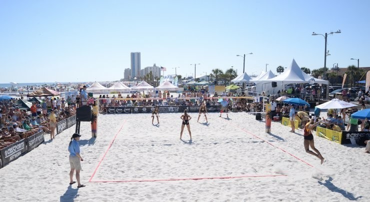 beach volleyball facilities