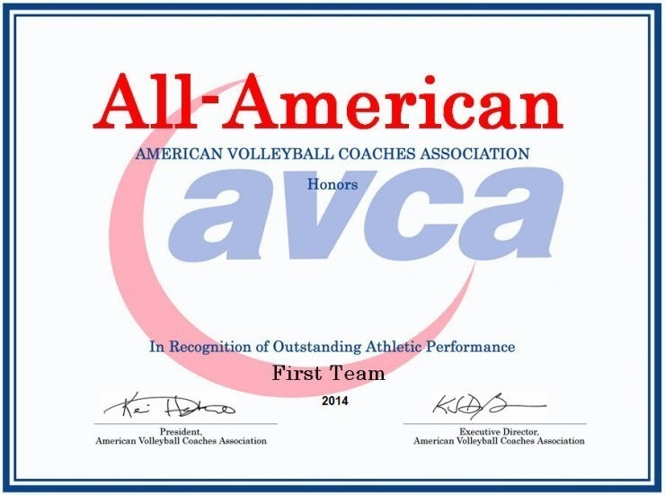 Awards | American Volleyball Coaches Association