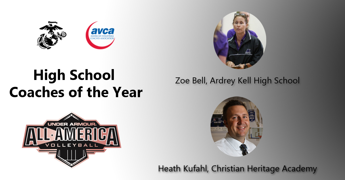 avca national high school coach of the year awards american