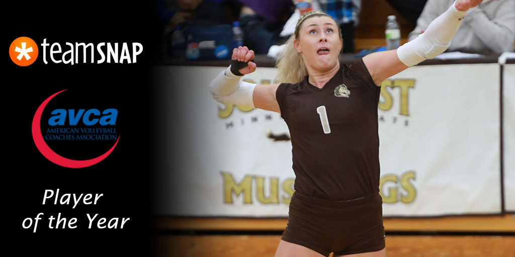AVCA Division II National Player of the Year | American